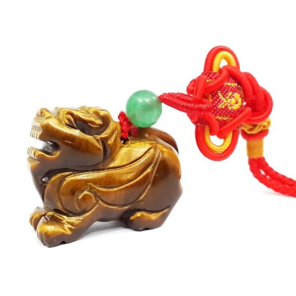 Pi Yao Tiger Eye Tassel for Wealth and Protection