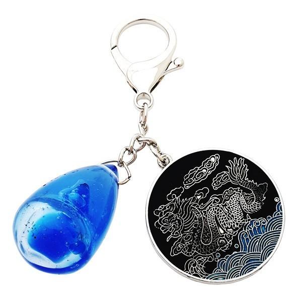 Water Drop Amulet Keychain