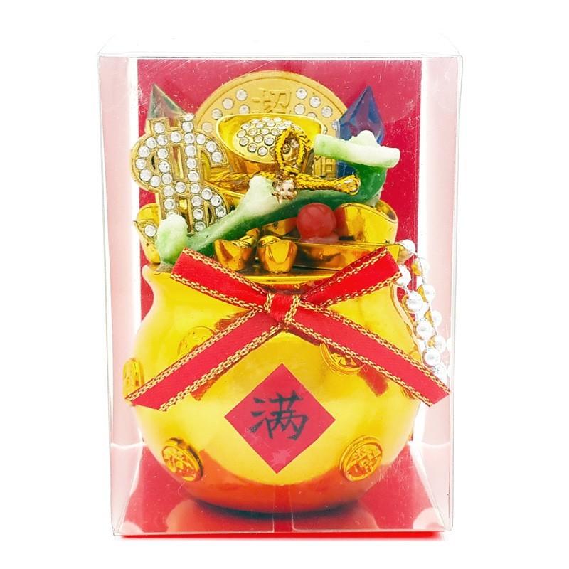 Overloaded Feng Shui Wealth Bag