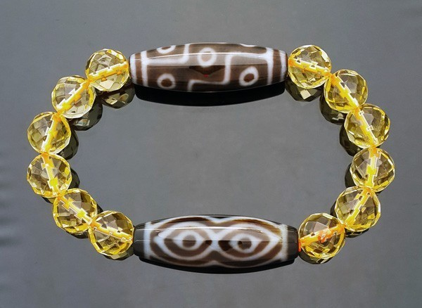 The Wealth Dzi Combo Bracelet to Enhance Wealth LUCK