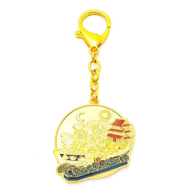 Wealth Ship Amulet