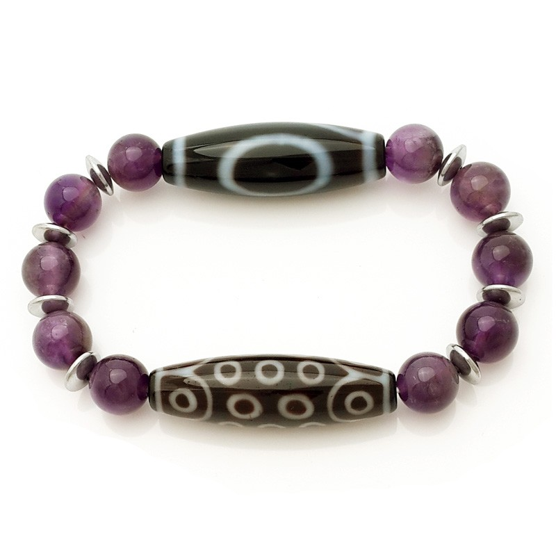 Wish Fulfilment Dzi beads Bracelet