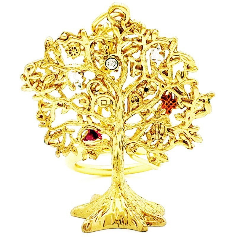 Wish Granting Tree Keychain
