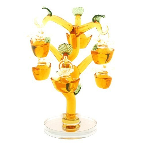 Yellow Crystal Golden Ingots Tree