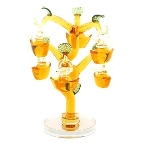 Yellow Crystal Golden Ingots Tree